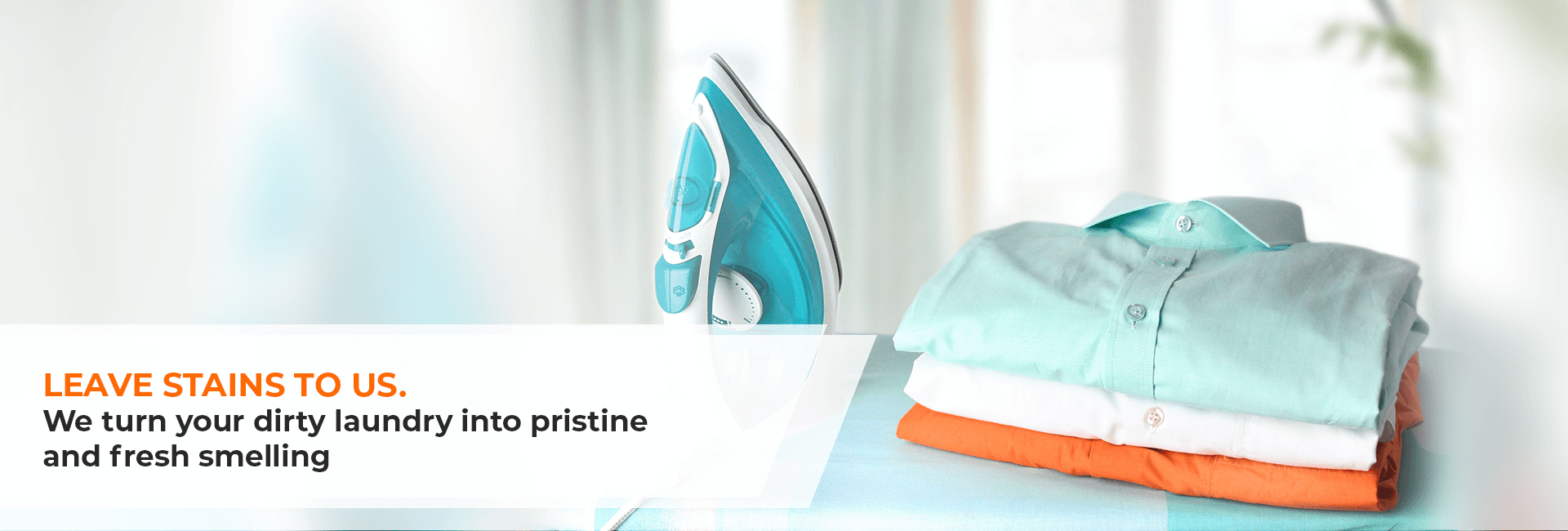 An image showing Cleaned and ironed shirts services in dubai